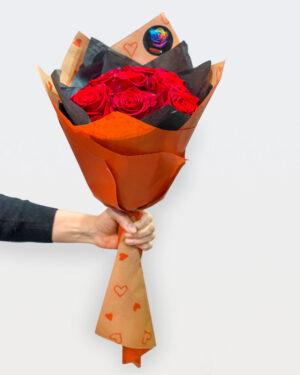 Buket od 9 crvenih ruža