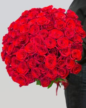 Buket od 51 crvene ekvadorske ruže
