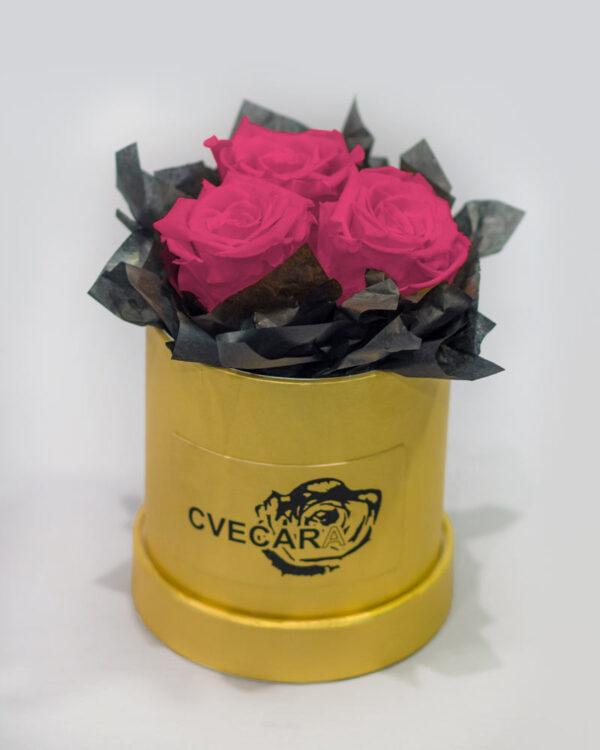 Kutija sa 3 holandske ruže
